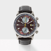 Paul Smith Men's Burgundy And Black 'Block' Chronograph Watch