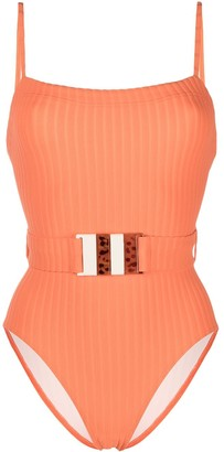 Solid & Striped The Gemma belted swimsuit