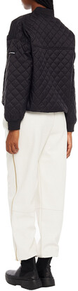 DKNY Quilted Shell Bomber Jacket