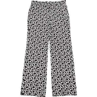 Joseph \N White Silk Trousers