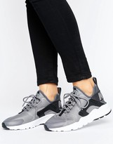 Nike Huarache Run Ultra Sneakers In Grey