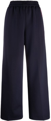 See by Chloe Double Stripe Wide-Leg Track Pants