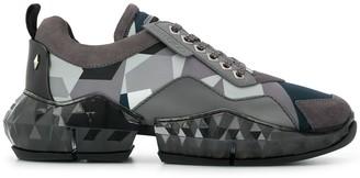 Jimmy Choo Diamond camouflage print sneakers