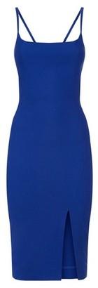 Dorothy Perkins Womens Vesper Blue Bodycon Midi Dress, Blue
