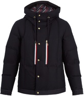 Moncler Gamme Bleu Hooded quilted down jacket