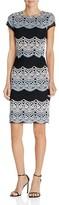 Aqua Multi-Hued Lace Dress - 100% Exclusive
