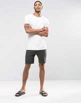Asos Shorts In Khaki