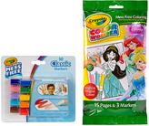 Crayola Disney Princess Wonder Coloring Paper & 10-CT. Pastel Marker Set