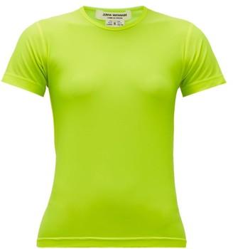 Junya Watanabe Round-neck Jersey T-shirt - Yellow