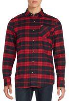 Buffalo David Bitton Plaid Button-Front Sportshirt