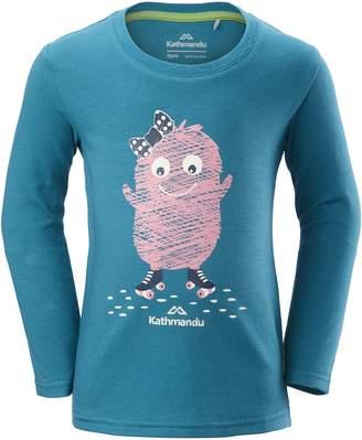 Kathmandu Monster Skate Girls Long Sleeve T-Shirt