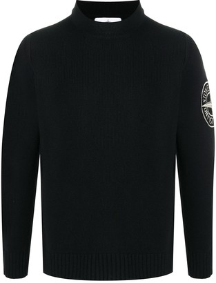 Stone Island Embroidered Compass Jumper