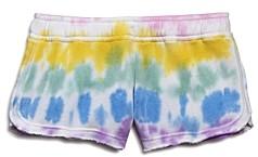 Vintage Havana Girls' Tie-Dyed Fleece Shorts - Big Kid