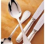 Christofle Malmaison Silverplate Serving Spoon