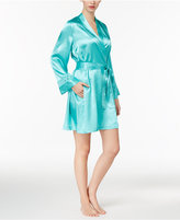 Thalia Sodi Lace-Trimmed Wrap Robe, Only at Macy's