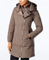 Vince Camuto Asymmetrical Puffer Coat, Created for Macy's