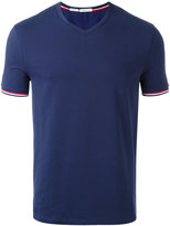 Moncler classic v-neck T-shirt - men - Cotton/Spandex/Elastane - XL
