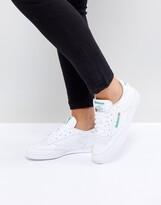 Reebok Club C 85 sneakers in white