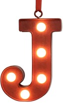 St. Nicholas Square® LED Red Letter Marquee Christmas Ornament