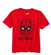 Mighty Fine Boy's Spider-Man - Web Famous T-Shirt
