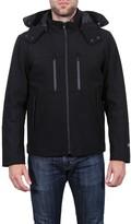Tahari Waterproof Hipster Detachable Hood Jacket