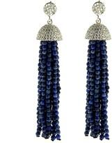 Lapis Cosanuova Sterling Silver Tassel Earrings
