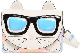 Karl Lagerfeld Paris Choupette Shape Shoulder Bag