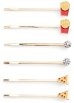 Capelli of New York Junk Food Set Of 6 Bobby Pins