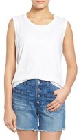 Madewell Women's Whisper Cotton Crewneck Muscle Tank