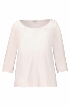 GINA LAURA Women's Bluse Zierband Armel Gummiband Blouse