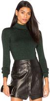 Diane von Furstenberg Tess Metallic Sweater