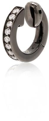 Repossi Berbere Module 18kt black gold diamond earring cuff