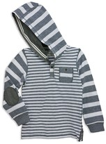 Sovereign Code Boys' Striped Piqué Hoodie - Sizes S-XL