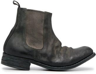 Poème Bohémien distressed Chelsea boots