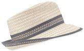 Eric Javits Big Deal Woven Fedora Hat