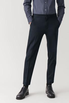 Cos Straight-Leg Wool-Cashmere Pants