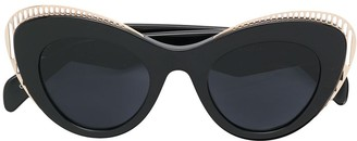 Cat Eye Oxydo cat-eye tinted sunglasses