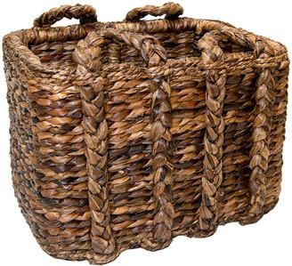 Mainly Baskets Sweater Weave Havana Large Rectangular Basket