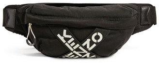 Kenzo Sport Cross Logo Belt Bag