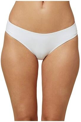 O'Neill Saltwater Solids Hipster Bottoms (Teal Green) Women's Swimwear