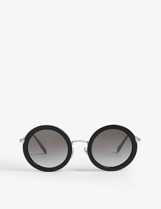 Miu Miu MU59U round-frame sunglasses