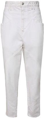 Isabel Marant Nadelosia Cotton Denim Boyfriend Jeans