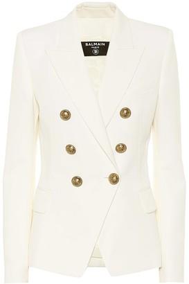 Balmain Wool-twill blazer