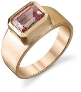 Irene Neuwirth Faceted Pink Tourmaline Ring - Rose Gold