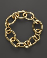 Roberto Coin 18K Yellow Gold Alternating Shape Link Bracelet - Bloomingdale's Exclusive