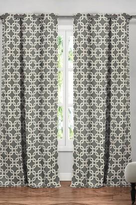 Duck River Textile Kristin Blackout Grommet Curtain - Set of 2 - Grey