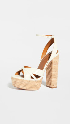 Aquazzura Sundance Plateau Sandals 140mm
