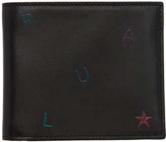 Paul Smith Black Letter Bifold Wallet