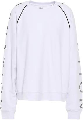 P.E Nation Printed French Cotton-terry Sweatshirt