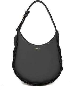 Chloé Darryl Leather Shoulder Bag - Black